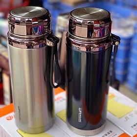 Bình giữ nhiệt nóng lạnh 1000ml L7 inox 304 cao cấp hàng chuẩn hãng