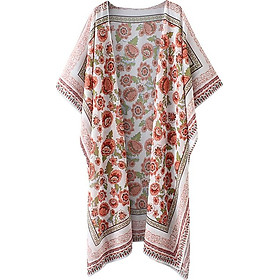 Áo Khoác Kimono Hoa