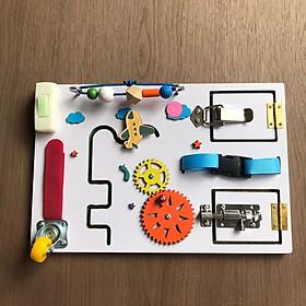 Bảng Busy board nhỏ gọn, tiện lợi