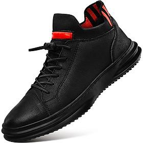 Giày Sneaker giày thể thao nam big size cỡ lớn 45 46 47 48 dành cho nam giới cao to có bàn chân ngoại cỡ làm bằng chất liệu da cao cấp thích hợp đi bộ dạo phố đi chơi dự tiệc - SK017
