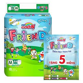 Tã Quần Goo.n Friend Gói Cực Đại M58 (58 Miếng) - Tặng Thêm 5 Miếng