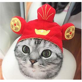 Mũ vải cho chó mèo, Mũ lưởi trai cho Chó Mèo