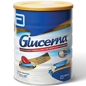 Sữa bột Gluccerna Vanilla 850gr nhập Úc - Dành cho người tiểu đường