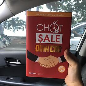 Sách CHỐT SALE ĐỈNH CAO tặng kèm khoá học bán hàng, bộ quy trình công cụ bán hàng và kế hoạch hành động 30 ngày