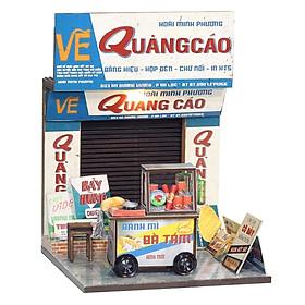 Mô Hình Sài Gòn Thu Nhỏ - Xe Bánh Mì - AD02