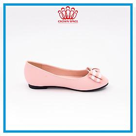 Giày Búp Bê Đi Học Bé Gái Sành Điệu Crown Princess Ballerina CRUK3119 Chất Liệu Cao Cấp Nhẹ Êm Thoáng Mát Size 28-36/4-14 Tuổi