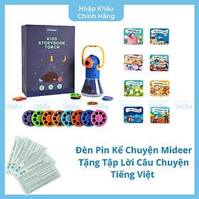 Đèn Pin Kể Chuyện Mideer Md1103 - Storybook Torch - Tặng kèm tập lời câu chuyện tiếng Việt