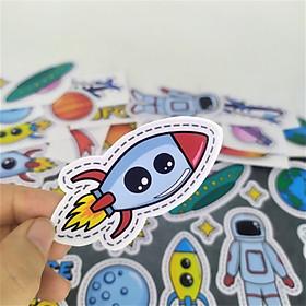 Miếng Sticker Dán Mũ Bảo Hiểm, Vali, Đàn Ukulele, Lap Top, Xe Đạp Trang Trí  Phòng