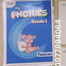 Flashcard MY PHONICS 1 (ép plastics)