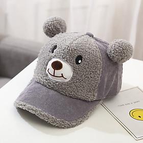 Mũ lưỡi trai hình gấu phát tiếng kêu cho bé trai bé gái có 5 màu