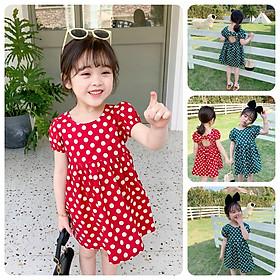 VT54Size90-130 (9-27kg)Váy đầm xoè bé gái - Kiểu dáng công chúaThời trang trẻ Em hàng quảng châu