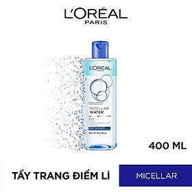 Nước Tẩy Trang L'Oreal 3 In 1 Micellar Làm Sạch Sâu (400ml)