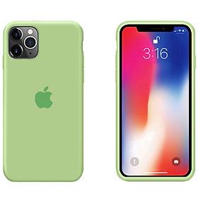 """Ốp Lưng Liquid Silicone Dẻo Lót Nhung Cho iPhone 11 Pro Max ( 6.5"""" ) - Chống Bám Vân Tay & Viền Bảo Vệ Camera ( Có 10 Màu Để Lựa Chọn )"""