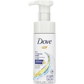 Mousse Rửa Mặt 3 Trong 1 Dove Giúp Tẩy Trang, Làm Sạch Lỗ Chân Lông Và Dưỡng Ẩm Cho Da 135ml