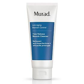 Sữa rửa mặt ngừa mụn và lão hóa Murad Time Release Acne Cleanser