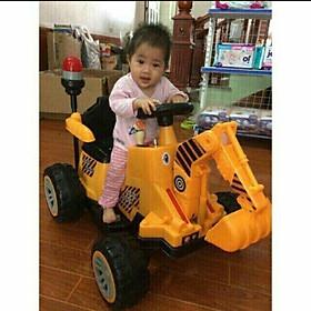 Xe cẩu điện cỡ đại 606 cho bé 2-7 tuổi