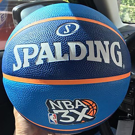Quả bóng rổ Spalding NBA 3X 83-002Z (size 6)- tặng kim bơm bóng và túi lưới đựng bóng