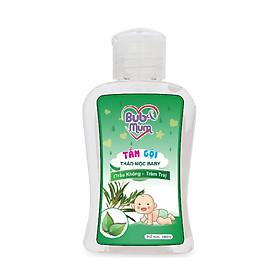 Tắm gội Thảo mộc Baby chiết xuất Trầu Không và Tràm Trà 100ml BuB&MuM công dụng diệt khuẩn, làm sạch, ngăn ngừa rôm sảy, mụn nhọt và giữ da luôn mềm mại, thơm mát hàng công ty chính hãng, xuất xứ Việt Nam