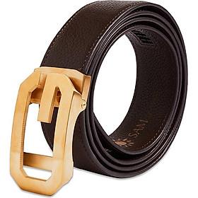 Dây nịt nam - Thắt lưng nam da SAM leather SFDN008GFV, Men's belts
