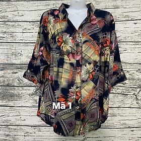 áo sơ mi vải tonl trung niên 60-70 ký