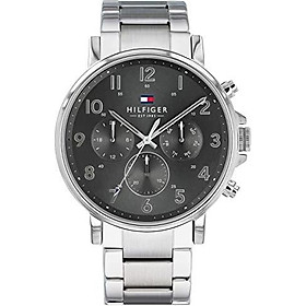 Tommy Hilfiger Silver Stainless Steel Watch-1710382