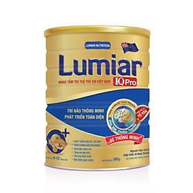 Sữa bột Lumiar IQ Pro 0+ 900g – Dinh dưỡng chuyên biệt giúp trí não thông minh, phát triển toàn diện