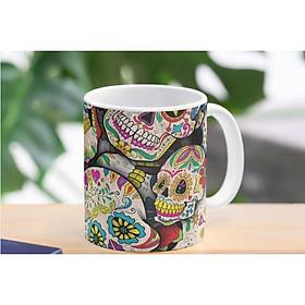 Cốc sứ Sugar Skull Collage Mug