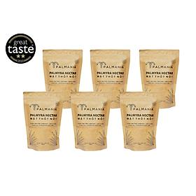 Combo 6 gói | PALMANIA Mật thốt nốt bột 300g net | 2 sao Great Taste Awards 2020 | Nguyên Chất, Tự Nhiên & Vì Sức Khỏe | Đặc sản An Giang