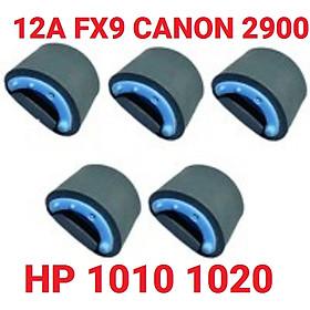 Quả Đào 12A  Bánh Xe Cuốn Giấy dành cho máy in HP 1010-1020 Canon 2900 3000 FX9