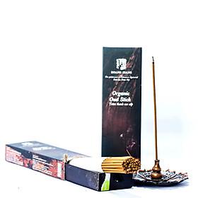 Trầm thanh 3mm cao cấp của Hoàng Giang- tinh hoa Trầm việt (50 cây/ hộp)