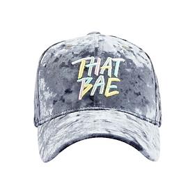 Nón Ballcap PREMI3R Hypebae Thatbae FL435 - Xám