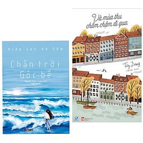 Combo 2 cuốn sách văn học hay : Chân Trời Góc Bể (Tái Bản) + Và Mùa Thu Chầm Chậm Đi Qua (Tặng kèm Bookmark AHA)