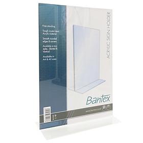 Bảng Nhựa Bantex Đứng Để Bàn A4 8854 08