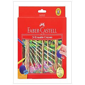Faber-Castell-122531-Bút Sáp Màu - 24 Màu (Có Thể Tẩy Được)