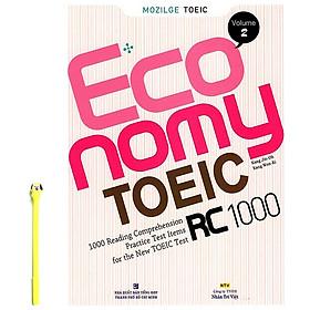 Economy TOEIC RC1000 Volume 2 ( Tặng Kèm Viết)