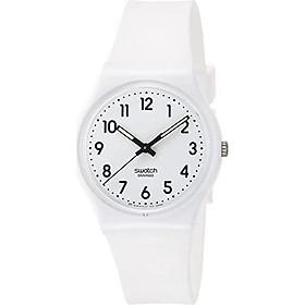 Swatch Women's Digital Quartz Watch with Silicone Bracelet - GW151O
