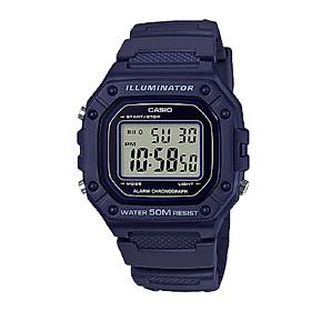Đồng hồ nam Casio điện tử W-218H-2AVDF (43mm)