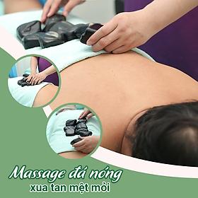 Voucher Massage Toàn Thân Kèm Đá Nóng