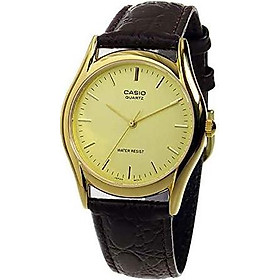 Casio Brown Leather Men's watch #MTP1094Q-9A