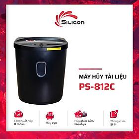 Máy Hủy Tài Liệu Silicon PS-812C