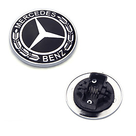 Logo nắp capo đầu xe ô tô Mercedes W204