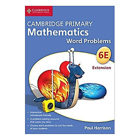 Cambridge Primary Mathematics 6 Extension: Word Problems  DVD-ROM