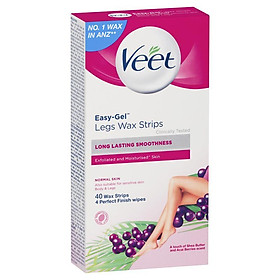Veet EasyGrip Ready-to-Use Wax Strips 40