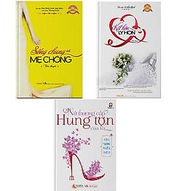 Bộ 3 cuốn truyện ngôn tình Sống chung với mẹ chồng + Kết hôn ly hôn + Vấn vương đến chết