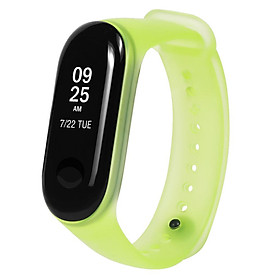 Band Strap Watch Strap Wearable Replaceable Translucent Colorful Watch Band Replacement for XIAOMI MI Band 3