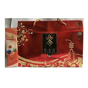 Nước hồng sâm Sobaek Hàn Quốc hộp 30 gói x 70ml tặng kèm 1 hộp dầu lạnh Omega 3 Hàn Quốc 165ml