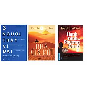 Combo nghệ thuật sôngs: Ba người thầy vĩ đại, nhà giả kim và hành trình về phương đông tặng sổ tay vadata