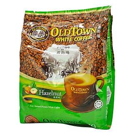 Cà Phê OLD TOWN White Coffee Hazelnut570g (15 gói x 38g)
