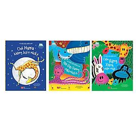 Bộ sách hay dành cho trẻ em từ 2-6 tuổi:  Combo 3 Quyển Vũ Điệu Của Muôn Loài