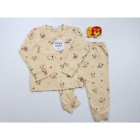 Bộ dài tay Minky Mom 100% cotton mềm mịn cho bé trai, bé gái từ 5-19kg